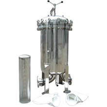 High Quality Single Liquid Bag Filter Housing for Water Treatment