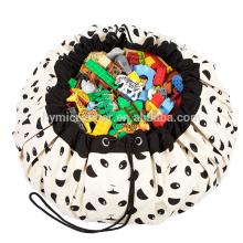 Custom printed children's toy large storage bag