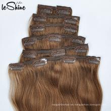 Extensiones de cabello humano europeo Remy 100% para mujeres negras