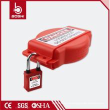 Dispositivos de bloqueio de válvulas de segurança de trabalho de alta qualidade, dispositivos de bloqueio Brady, bloqueio de válvula de porta de segurança ajustável BD-F16