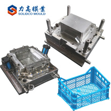 cheap customized plastic logistic transfer crate molding