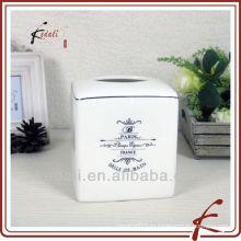 Коробка для керамической ткани в французском стиле