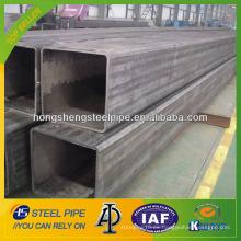 ASTM A106 tubo cuadrado de acero al carbono 70x70