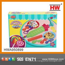 Lustige handgemachte pädagogische Spielwaren Plastilin magisches Spielzeug, das Lehm modelliert