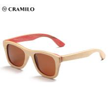 óculos de sol óculos de bambu de madeira