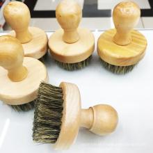 nova escova de barba de cerdas faciais de alta qualidade