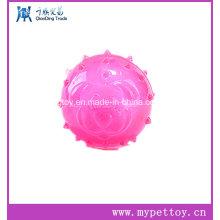 Venda quente, brinquedo do animal de estimação da esfera da cara do cão de TPR