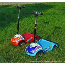 Crianças Scooter Elétrico 4 Rodas Kids E-Scooter Standing Tipo