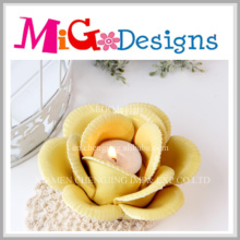 Ceramic Lotus Flower Candle Holder for Lighting