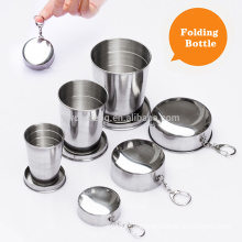 3size for choose Stainless Steel Folding Travel Cups