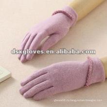 Теплые женские перчатки для сенсорного экрана