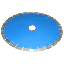 Lâminas de serra de diamante brasadas para granito (corpo normal, segmentos planos)