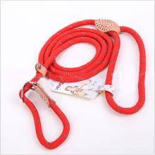 5 Farbe 3 Größe Slip Kragen Seil Hundeleine P Kette Nylon Welpen Hundeleine Seil