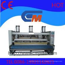 Máquina de grabación en relieve de calor plana cóncava y convexa sin costura automática