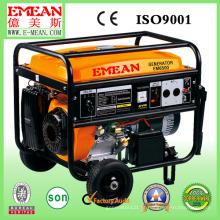 Gerador de gasolina de baixo nível de ruído do motor pequeno da gasolina 5kw YAMAHA
