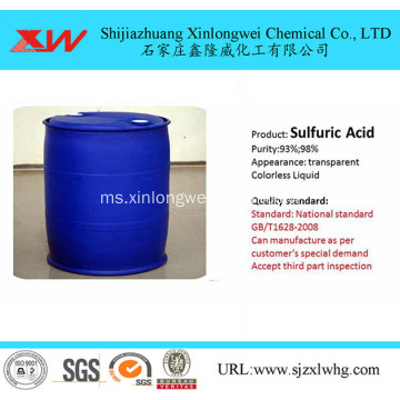 Sulfuric Acid for Refining Gold