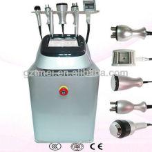 El mejor efecto 5 en 1 rodillo del vacío de Cryolipolysis de la cavitación del RF que adelgaza la máquina
