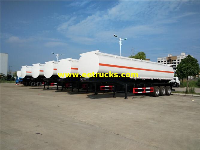 12000 Gallons 35ton Petrol Tanker Trailers