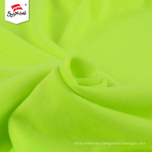 Custom Green Polyester Knit Cotton Single Jersey Fabric