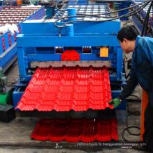 Xinnuo galvanisé tôle vitrifiée rouleau formant la machinerie toit zinc faisant la machine