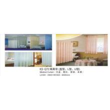 Rideau médical hospitalier (couleur bleu / rose / vert / jaune)