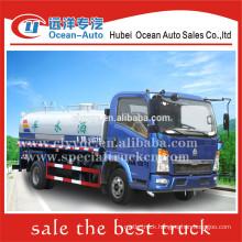 SINOTRUK HOWO 5000L diesel road sprinkler tank truck sale
