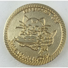 Cute Logo Gold Coin Custom Coin (GZHY-YB-003)