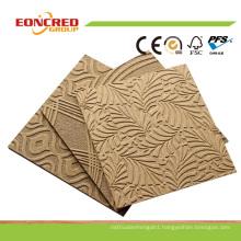Embossed Hardboard/ Decorative Hardboard Panels/ 2mm Hardboard Sheet