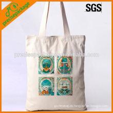 Gehobene Baumwollhandtasche für die Förderung
