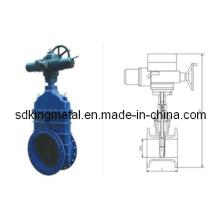 Válvula de compuerta eléctrica de la construcción naval (FX-Z9 / 545-10 / 16Q)