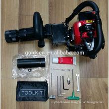 900w 1.2HP 25-45J 32.7cc Portable Gasoline Powered Hammer Pile Driver
