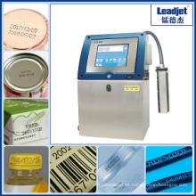Impresora de fecha de caducidad de alta velocidad Wuhan Leadjet Inkjet Water Bottle