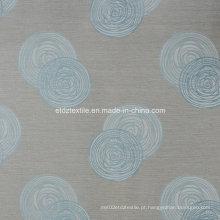 Linho de primeira classe Tocando 100% tecido de cortina de poliéster