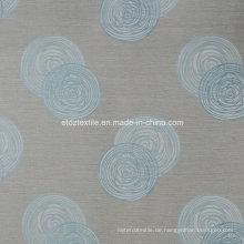 First Class Leinen Berührung 100% Polyester Vorhang Stoff
