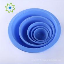 Bon prix de gros bols éponge en plastique jetables