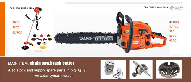 gasoline chain saw and brush cuuter poland marketing