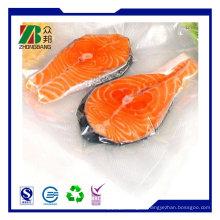 Пластмассовая вакуумная замороженная упаковка для рыбы