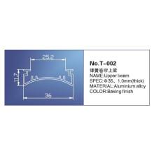 Chenille à ressort de 35 mm, T-002