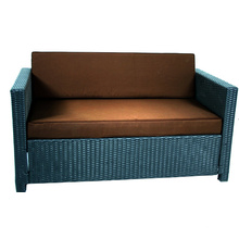 Muebles de exterior baratos rota Loveseat sofá