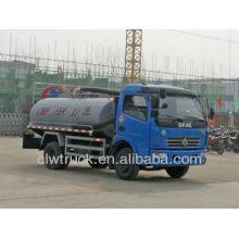 Dongfeng DLK 5000litres camión séptico para la venta, 4x2 camión de succión de aguas residuales