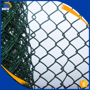 PVC Coated Garden Chain Link Fence