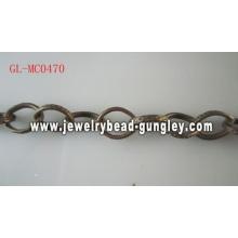 Grinaldas, corrente de metal moda