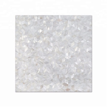 Diamond Design Mother Of Pearl Shell Mosaic Tiles