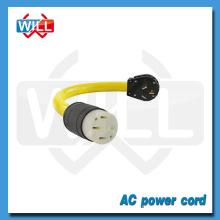 Cordon d'alimentation UL CUL 50A 125V / 250V NEMA 10-50P 10-50R
