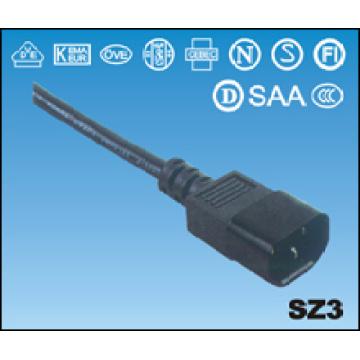 China-CCC-Connector-Netzkabel