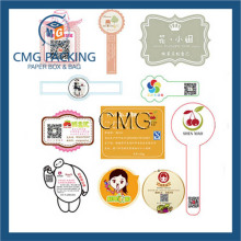 Custom Coloured Fashion Adhesive Sticker Cartoon Design