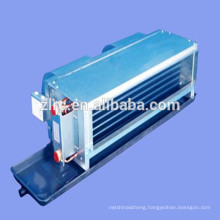 CE water chiller and heat pump wall mounted water fan coil price