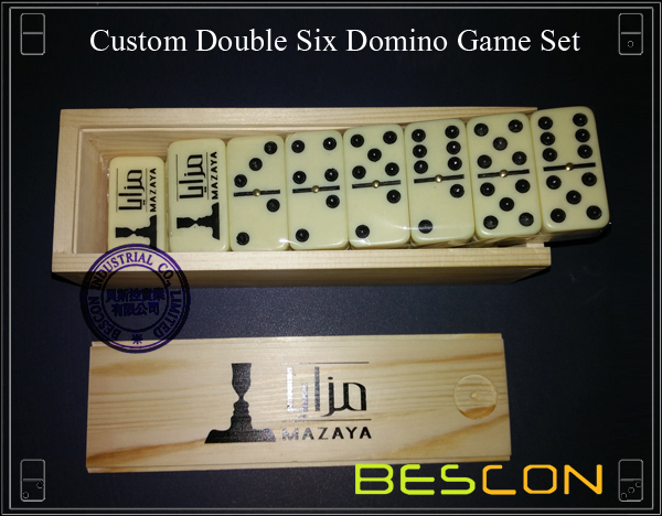 Custom Double Six Domino Game Set-2