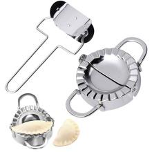 wholesale home kitchen food grade stainless steel empanada press dumpling mold dumpling maker set