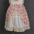 JannyBB new design hand embroidery cotton floral dress